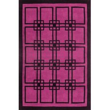 Modern Living Omni Purple/Black Rug