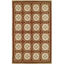 Neo Nepal Gold/Burgundy Empire Rug