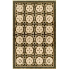 Neo Nepal Gold/Black Empire Rug