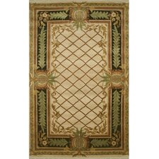 <strong>American Home Rug Co.</strong> Palm Beach Pineapple Aubusson Novelty Rug