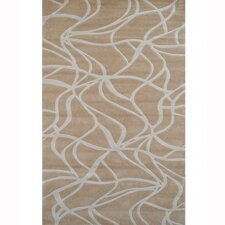 <strong>American Home Rug Co.</strong> Kinetic Beige/Ivory Rug