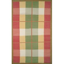 Cottage Kilim Plaid Morning Rug