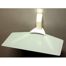 Slim Single Wide Sky Shelf Glass
