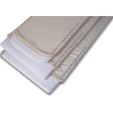 <strong>Moonlight Slumber</strong> Natural Cotton Changing Table Pad