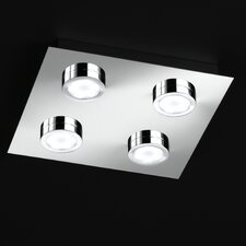LED-Deckenleuchte 4-flammig Veneta
