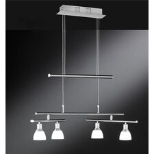 Höhenverstellbare LED-Pendelleuchte 4-flammig Talas