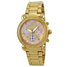 <strong>JBW</strong> Women's Victory Diamond Bezel Watch in Gold