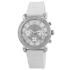 Victory Designer Silicone Diamond Watch