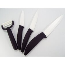 <strong>Best Direct</strong> Ceramique 4 Piece Knife Set