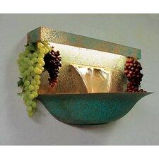 Copper Grape Bowl Wall Mounted Fountain