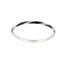 Brilliant Diamond Bangle Bracelet