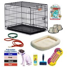 Girl Puppy Pet Crate