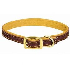 "5/8"" Deer Ridge Leather Collar"