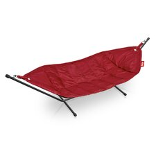 Headdemock Deluxe Fabric Hammock with Stand