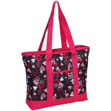 Fashionable Hearts Shopper Tote Bag