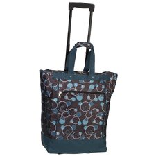 <strong>Everest</strong> Print Pattern Rolling Shopping Tote