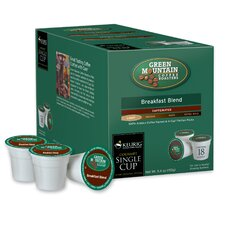 Green Mountain Coffee Roasters BreakFast Blend Coffee K-Cup (Pack of 108)