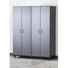 <strong>Tuff Stor</strong> Tuff-Stor 2 Piece Storage System in Charcoal Grey and Textured Black