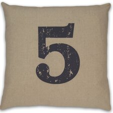 Numeral 5 Pillow