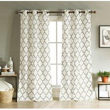 Mason Grommet Curtain Panel (Set of 2)