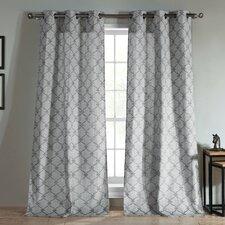 Kenilworth Jacquard Grommet Curtain Panel (Set of 2)