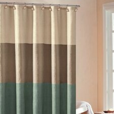 Hampton Hotel Color Block Shower Curtain