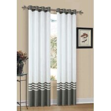 Elizabeth Grommet Curtain Single Panel