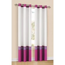 <strong>DR International</strong> Grommet Oxford Window Curtain Single Panel
