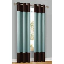 Calypso Grommet Curtain Single Panel