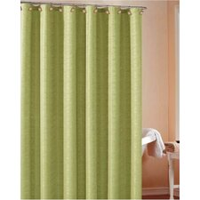 Heather Wave Polyester Shower Curtain