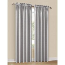 Heather Wave Rod Pocket Curtain Single Panel