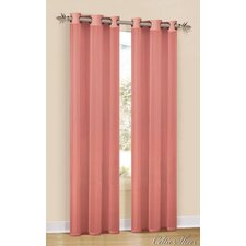Celtic Grommet Curtain Single Panel