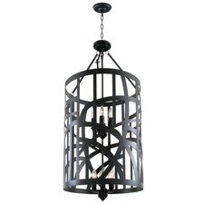 River Heights 12 Light Foyer Pendant