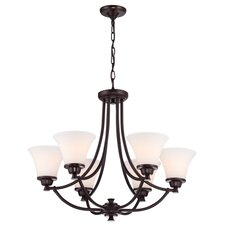 <strong>DVI</strong> Valletta 6 Light Chandelier