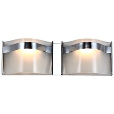 Abyss 2 Light Bath Vanity Light