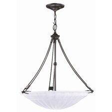 Contempra 3 Light Inverted Pendant