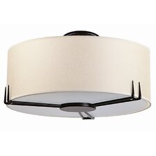 "Geometry 16"" 2 Light Flush Mount"