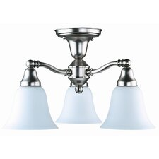 Jubilee 3 Down-Light Semi Flush Mount