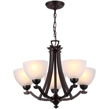 <strong>DVI</strong> Key West 5 Light Chandelier