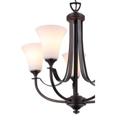 <strong>DVI</strong> Richmond 5 Light Chandelier