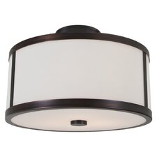 Uptown 2 Light Flush Mount