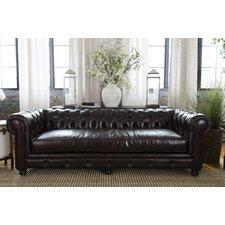 Estate Top Grain Leather Sofa
