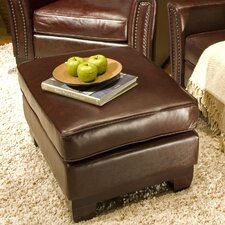 Serafina Leather Cocktail Ottoman