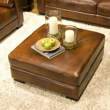 <strong>Elements Fine Home Furnishings</strong> Soho Leather Cocktail Ottoman