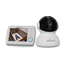 "Astra 3.5"" PTZ Digital Baby Video Monitor with Talk to Baby Intercom"