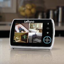 "<strong>Levana</strong> Keera Remote Controlled Pan/Tilt/Zoom Camera with 3.5"" Screen"