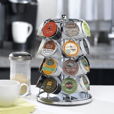 Carousel for 28 K-Cups in Chrome