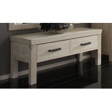 "Konsolentische ""Vivere"" in White-Wash"