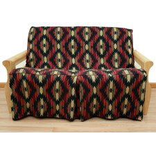 Cherokee Futon Skirted Slipcover