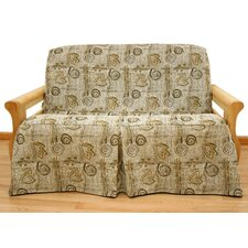 Melody Futon Skirted Slipcover